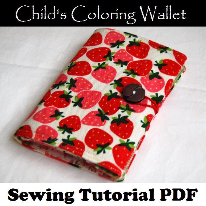 Coloring wallet shop image
