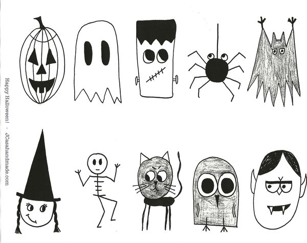 tutorial superfun dog tags make something special - Halloween Drawings For Kids